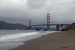 Cloudy Baker Beach (texasclark) Tags: sanfrancisco goldengatebridge bakerbeach