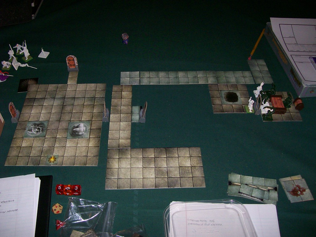 Swords and Wizardry Session One Level A