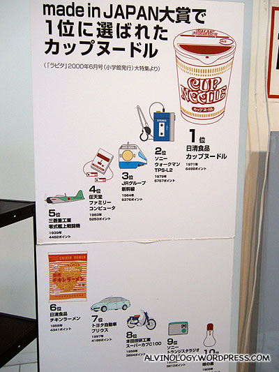 Top ten greatest inventions in Japan - check out number 1 and 4