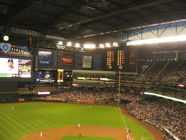 Arizona Diamondbacks 9, Los Angeles Dodgers 4, Chase Field, Phoenix, Arizona (19)