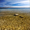 ~ Canada-USA ~ (ViaMoi) Tags: blue sky newyork ontario water shoreline clear soe shimmer saintlawrenceriver ultimateshot viamoi worldwidelandscapes skycloudssunni