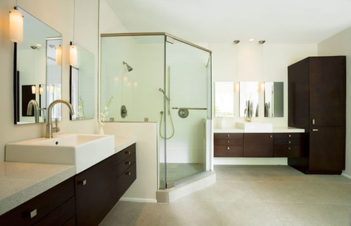 Bathroom Countertops & Vanities by CaesarStone - 7141 Quartz Reflections