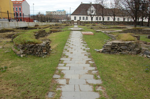 Hallvardskatedralen - Ruinparken