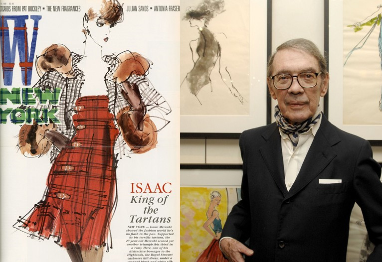 Fashion Illustrator Kenneth Paul Block