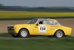 Alfa Romeo 1750 GTAM (Jojo Cence) Tags: auto france car sport vintage de tour voiture racing course alfa romeo 1750 2009 gtam