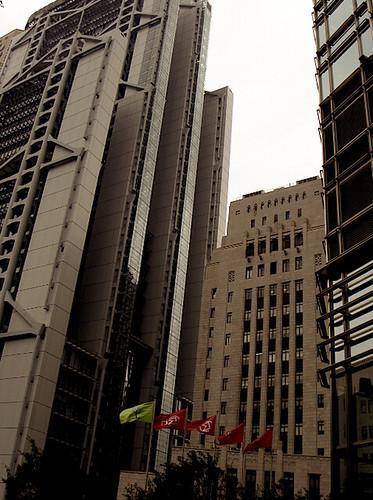 jimwang0813 拍攝的 商業金融大樓。