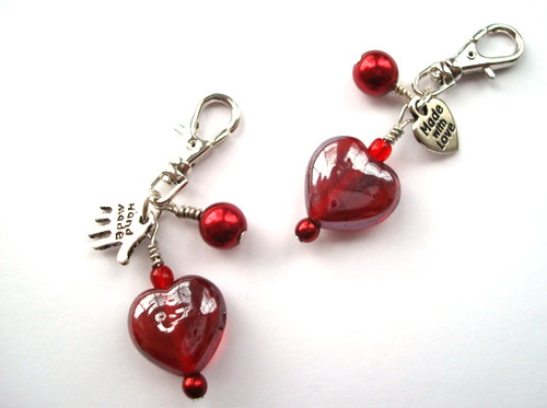 mini charms. Red Heart Mini Charms