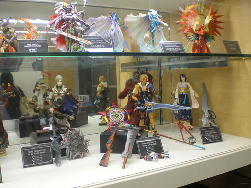 Figuras de Final Fantasy X