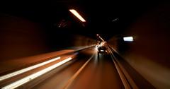 La route de la Vitesse de la Lumière - Speed Light Road (flagada51) Tags: road light man speed canon sigma tunnel basel 480 bale 400d
