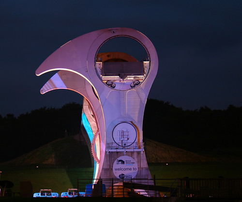 Falkirk Wheel at Night