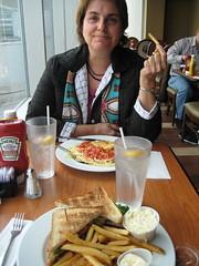 Lunch à Montréal avant de partir