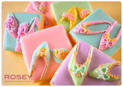 I want candy ! (rosey sugar) Tags: wedding cookie decoration royal celebration icing piping marieantoinette favour sugarcraft