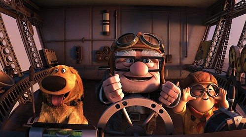 Pixar Up Carl Dug Russell