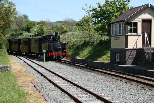 No. 14 arriving at Castle Caereinion