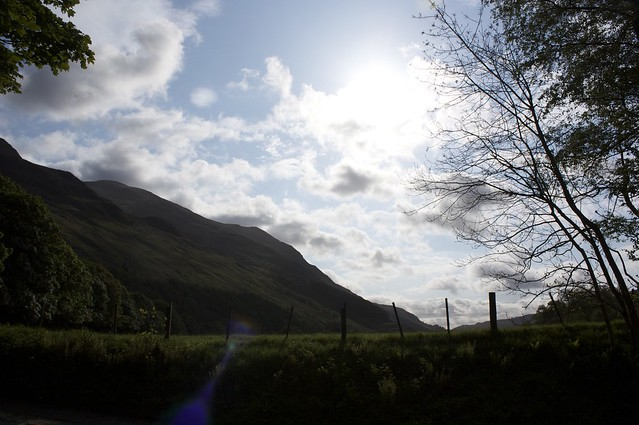 Early morning in Glen Lyon