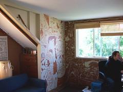 Morgan's Mural 1 (TheGrossUncle) Tags: california art illustration painting mural fineart cartoon wallart collab decor oaktown andystattmiller grantgilliland thegrossuncle pilpen