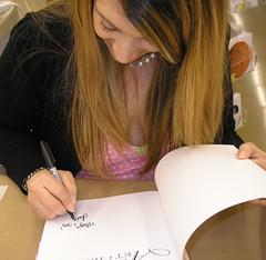 Me Signing!
