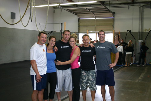 Crossfit Pleasanton Throwdown Team II