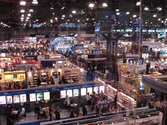 Book Expo floor
