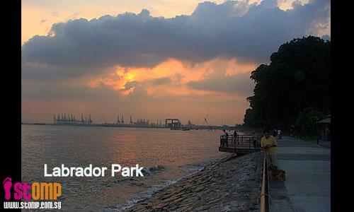 Recent upgrading has made Labrador Park such a beautiful place