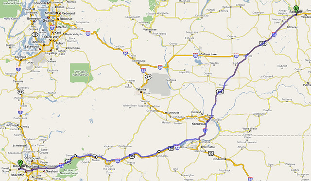 Route Map: Day 1