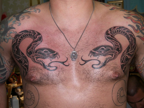 san francisco. snakes. tattoo