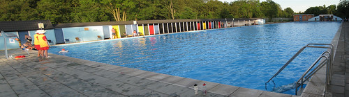 Tooting Bec Lido - London's filthiest pool (stitched)