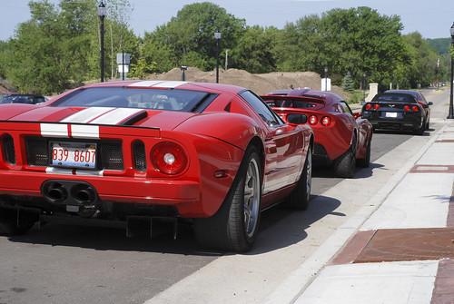 GT, Exige, Corvette