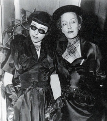 Edith Head with Glora Swanson