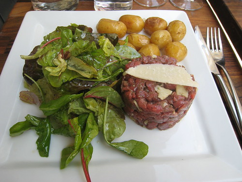Steak Tartare at Les Fines Gueules