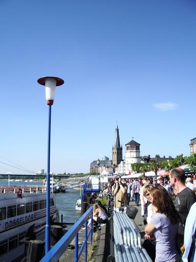 Duesseldorf Rhein