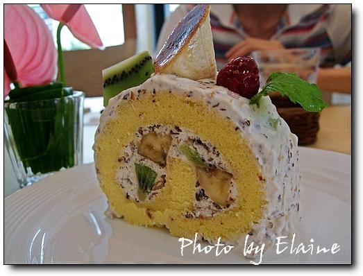 奇異果香蕉蛋糕捲