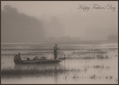 Happy Fathers Day~ (A Glimpse of Blessings (Andrea ;-))) Tags: morning mist lake fog sunrise blessings boat fishing explore fathersday hoo whoo mywinners citrit goldstaraward