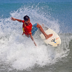 Bali Surfing (Rob Kroenert) Tags: ocean bali beach indonesia asia wave competition surfing southeast kuta kutabeach suf