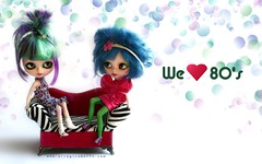 We love 80's. Desktop (erregiro) Tags: desktop wallpaper cat nose carved eyes dolls free can lips petal download makeover ccc blythe jem mold custom ep enchanted sbl sanded stormer makeu erregiro erregirodolls reroor