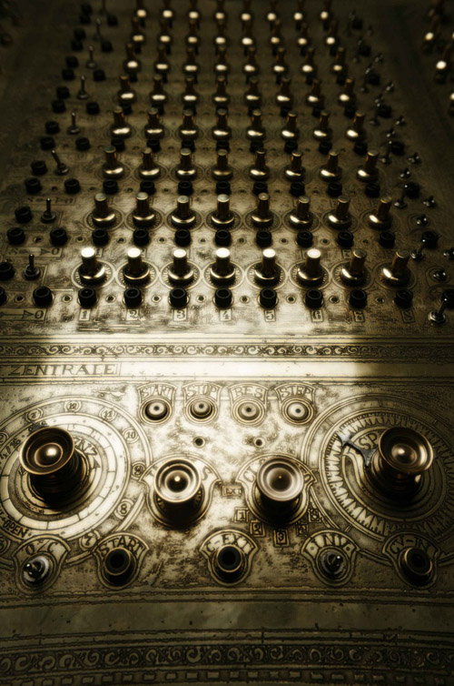 steampunk modular synth 500px