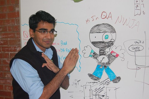 Aditya as QA ninja