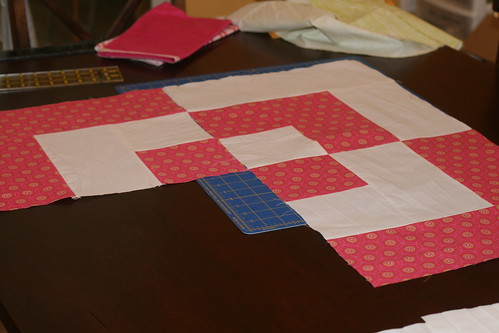 Second Block of Bento Box Quilt
