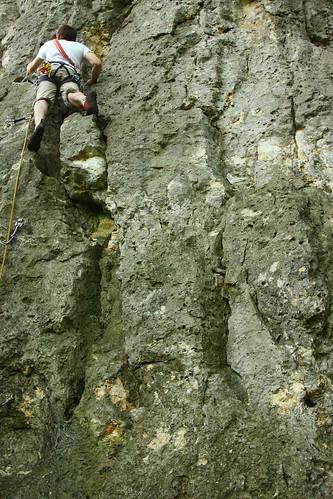 Blautal klettern - 18