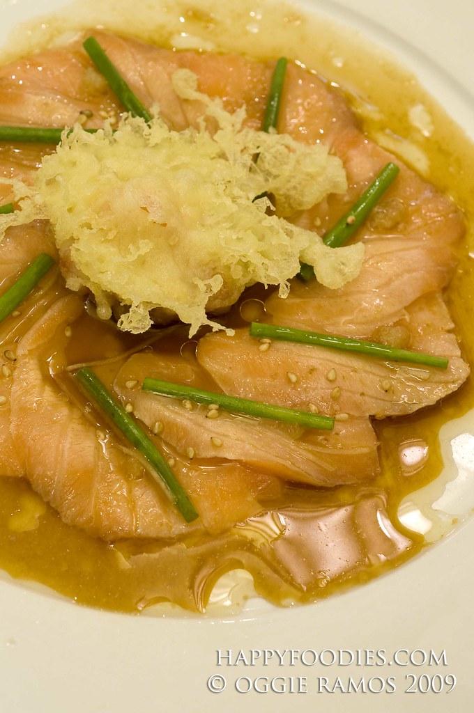 Salmon New Style Sashimi (P270)