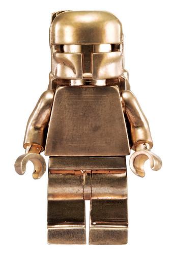 Bronze Boba Fett. LEGO