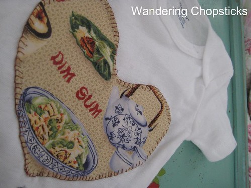 How to Decorate a Onesie with an Appliqued Patch 2