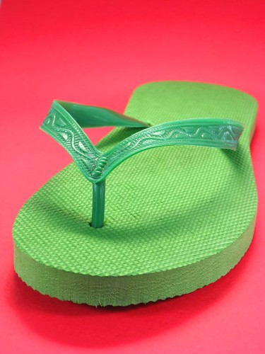 sea summer vacation sun holiday green beach water relax shoe sand pattern bright steve johnson flipflop plastic flip footwear sole relaxed cheap flop sandal carefree beachwear