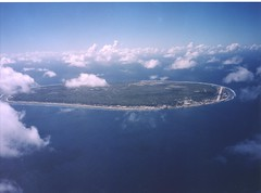 Nauru Island from the Air