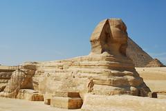 La Gran Esfinge de Giza / Great Sphinx of Giza (rsaezn) Tags: sphinx pyramid esfinge egypt egipto piramides giza piramide gizapyramids أبوالهول piramidesdegiza thegreatsphinxofgiza