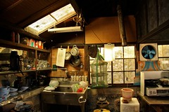 IMG_7080 (maggabot) Tags: kitchen japan rural japanese countryside traditional rustic countryhouse fryingpans countrykitchen