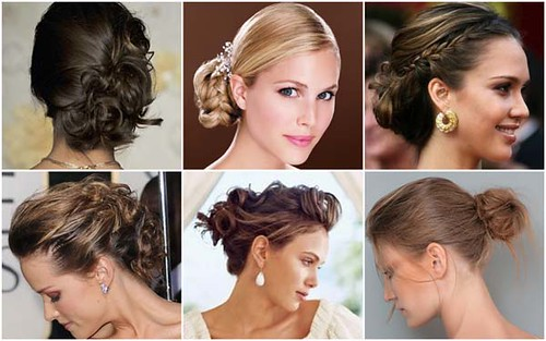 penteados para madrinha de casamento 2012