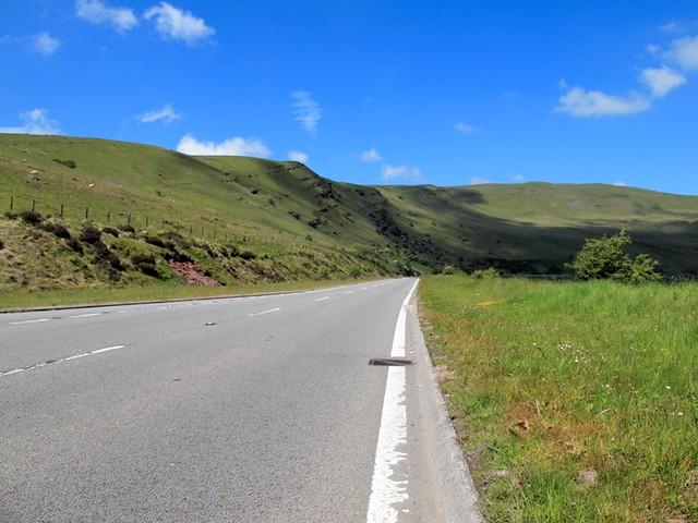 route dans les brecons beacons