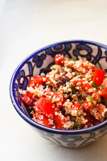 quinoa black bean salad 2 (1 of 1)