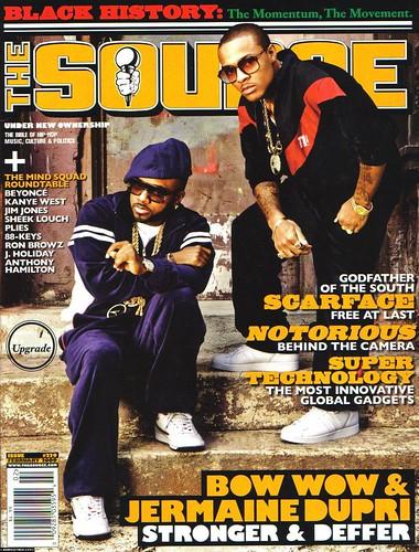 bow wow jermaine dupri source magazine feb 2009 cover